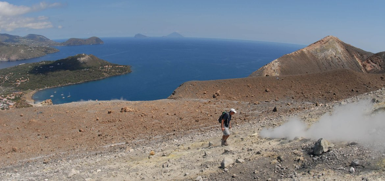 Segeln & Wandern, Vulcano